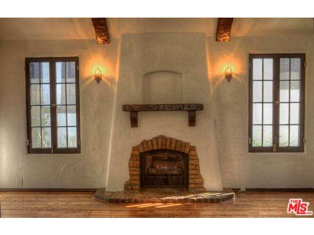 Interior of one of the Snow White Cottages  Photo via  hotpads.com