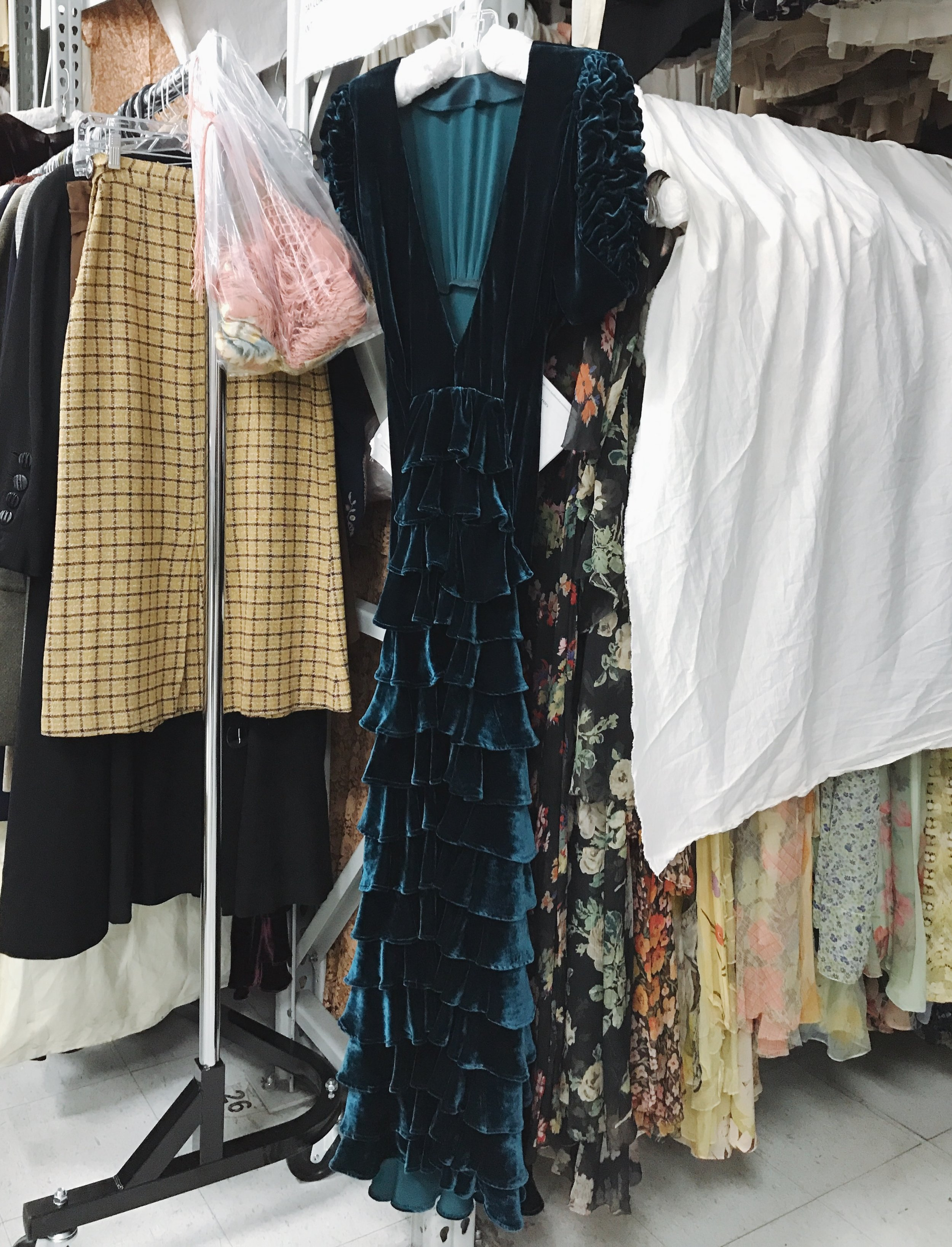 """""""The Collection"""" at Western Costume Company  Photo via  Finding Lost Angeles  (2018)"""