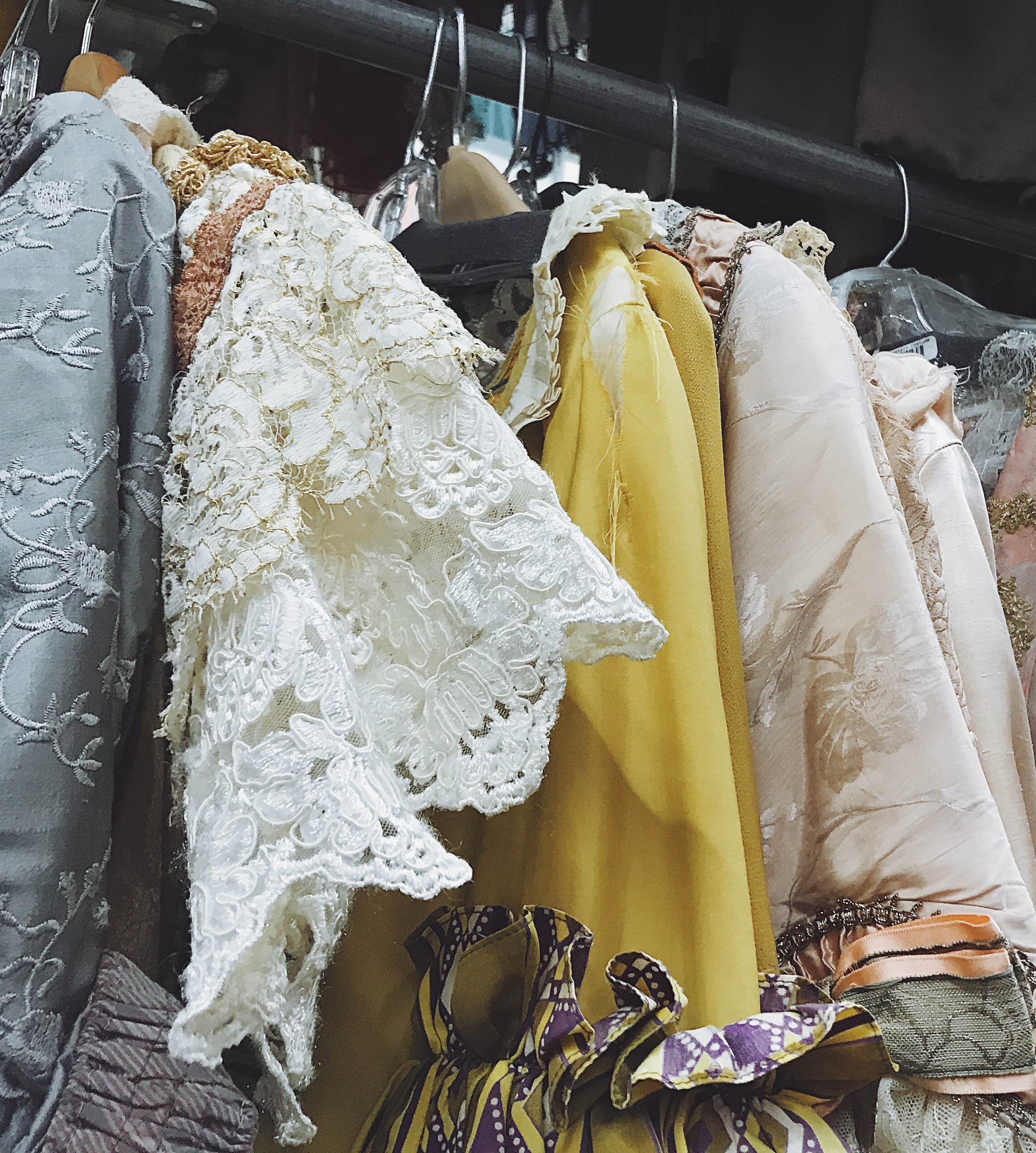 Period pieces in the warehouse at Western Costume Company.  Photo via  Finding Lost Angeles  (2018).