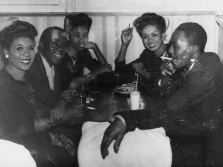 Club Alabam. Photo via Los Angeles Public Library (1941).