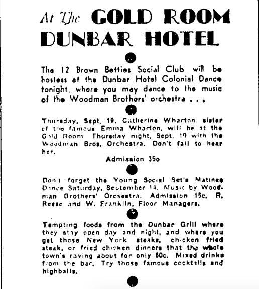 Los Angeles Sentinel  (Sept. 12, 1935).