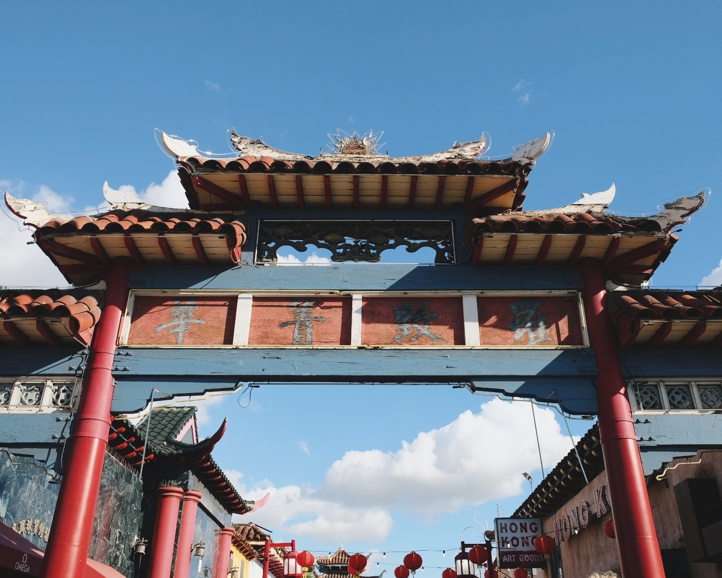 Gates of Los Angeles Chinatown