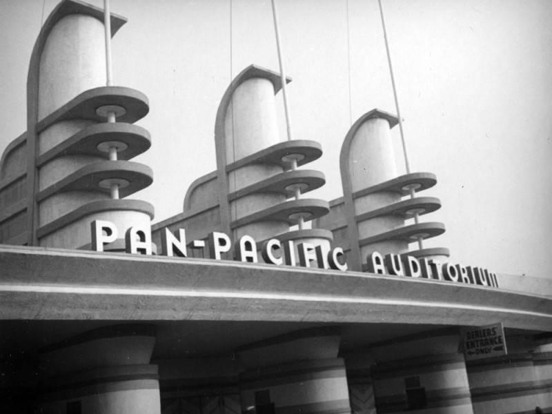 pan-pacific auditorium -