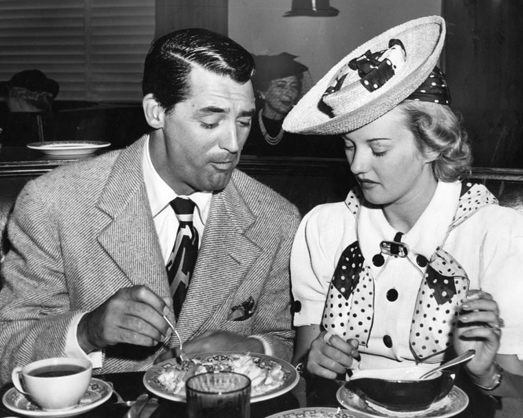 Cary Grant and Phyllis Brooks. Photo via Los Angeles Public Library (1939).