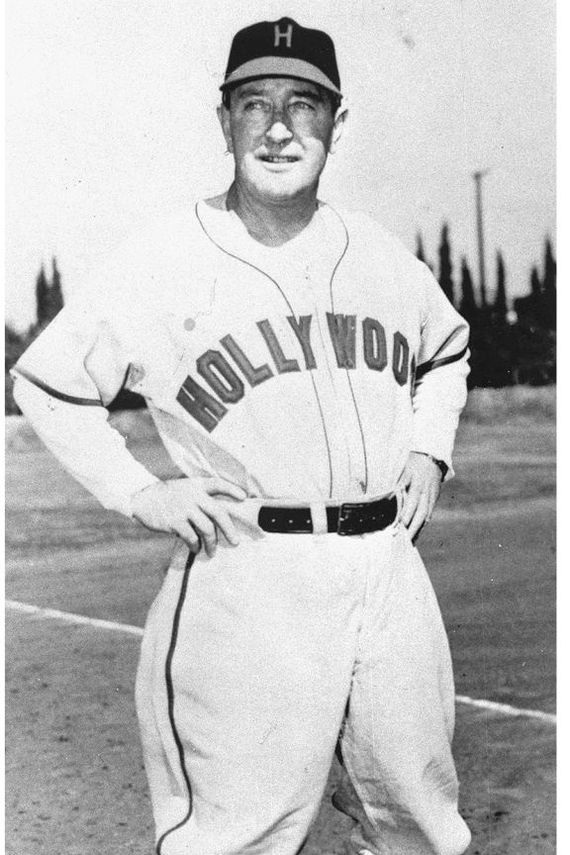 Fred Haney, as manager of the Hollywood Stars. Photo via Dick Dobbins Collection,  The Hollywood Stars  (c. 1950).