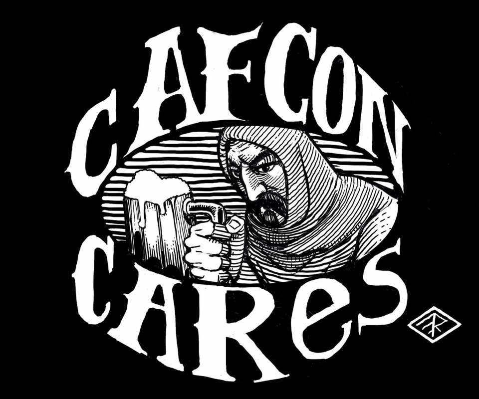 CAFCON Cares…. gamers giving back! CAFCON Cares logo designed by 2017 CAFCON Signature Artist, Matt Ray.