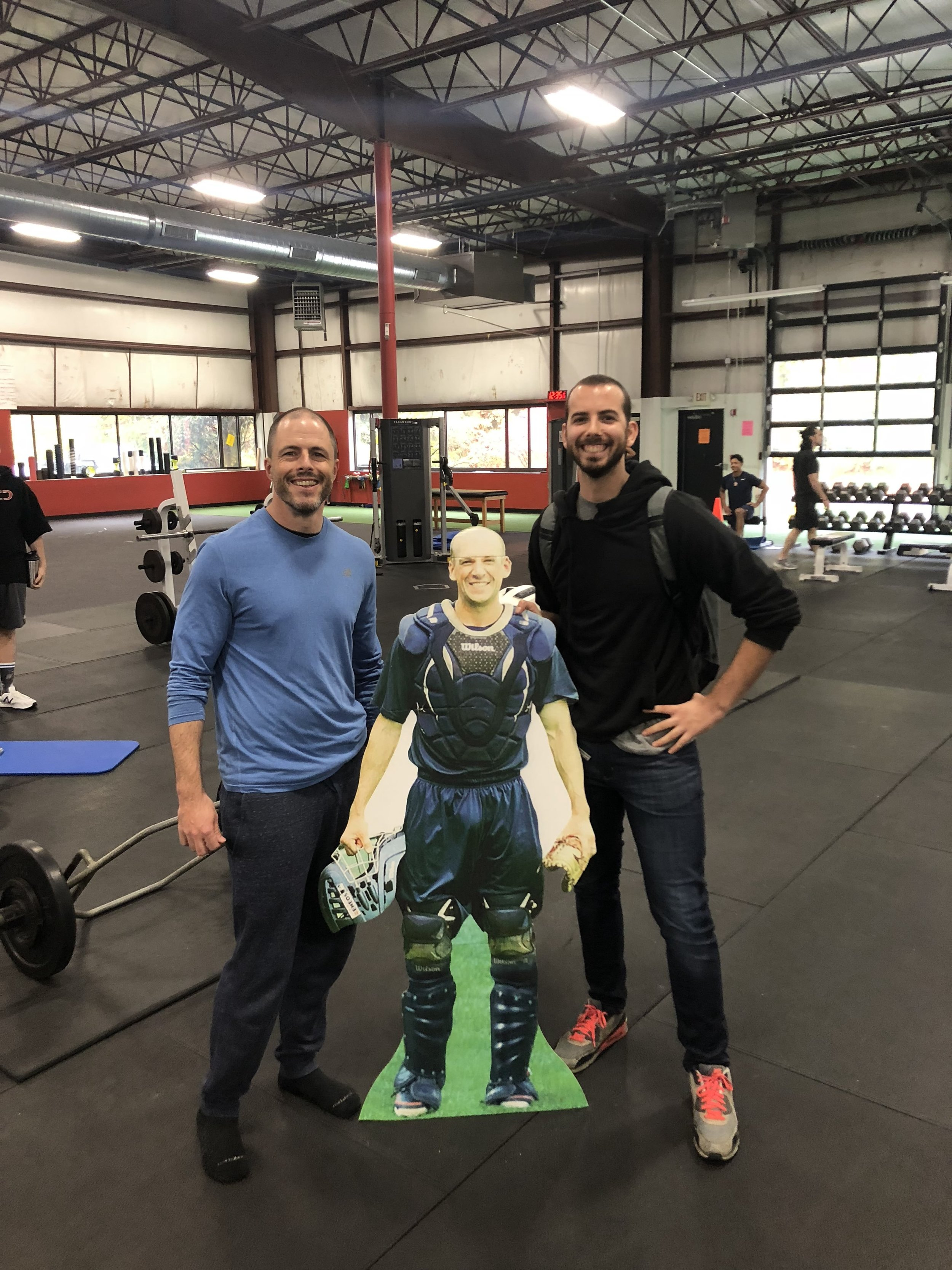 """Me, Pete, and """"Dad"""", also known as, Eric Cressey. Boston   Cressey Sports Performance"""