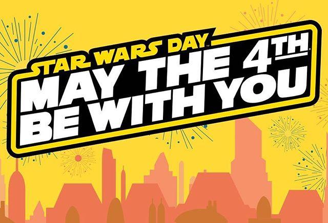 🧡💙 Happy Star Wars Day!