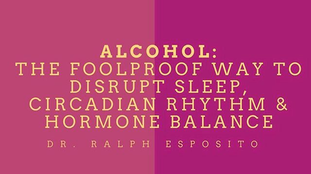 "🍷 Alcohol. Just don't do it. ⠀ ⠀ ⠀ {TL;DR If you're having hormonal and sleep issues avoid the alcohol. Even more so if you're trying to *optimize* hormones. Alcohol has 0 benefit, forget that French Paradox bullcrap.}⠀ ⠀ ""We know sleep is important. If not from anything else, evolutionarily it is the one thing we know that we have preserved over millennia. And then came along Homo sapiens and their innovative alcohol tricks.⠀ •⠀ First the basic points:⠀ 🔹Alcohol will reduce your deep sleep (slow wave sleep)⠀ 🔹Alcohol will increase light sleep (less restful)⠀ 🔹Alcohol will increase body temperature⠀ 🔹Alcohol will increase resting heart rate⠀ 🔹Alcohol will disrupt your melatonin synthesis and circadian rhythm⠀ •⠀ All of the above are indicators of poor sleep QUALITY, although you may sleep for 10  hours after a bottle of wine, it doesn't mean you're benefiting.⠀ •⠀ Safe to say alcohol is the foolproof way to muck up your sleep. What does this mean for your hormone health? We know your sleep cycles are essential for proper release of tropic hormones (LH, FSH, GnRH, CRH, GHRH, etc.). Without these hormones you will have aberrations in your hormonal balance. ⠀ ⠀ ❗️WOMEN and MEN - PAY ATTENTION❗️⠀ ⠀ If you do not correct this, your hormones will not correct and you will have hormonal imbalance (Low Testosterone, PMS, PCOS, climacteric symptoms, sexual dysfunction, etc.)⠀ •⠀ Lastly alcohol will up-regulate aromatase enzyme. This means it will increase the conversion of testosterone to estrogen in men. But in women we see alcohol ( 1 drink daily) increase 17B-Estradiol levels, which may be independent of aromatase. Not something you want to be influenced by your diet, you want your body's own feedback system to manage this endogenously.⠀ •⠀ Long story short, if you're having hormonal issues and sleep issues avoid the alcohol. And more so if you're trying to optimize hormones avoid alcohol. Alcohol has 0 benefit, forget that French Paradox bullcrap.⠀ 📚 PMID: 11955463 