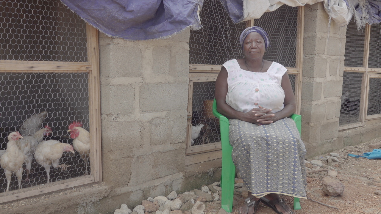 Augustine Oubda, éleveuse de volailles - Koupela, Burkina Faso