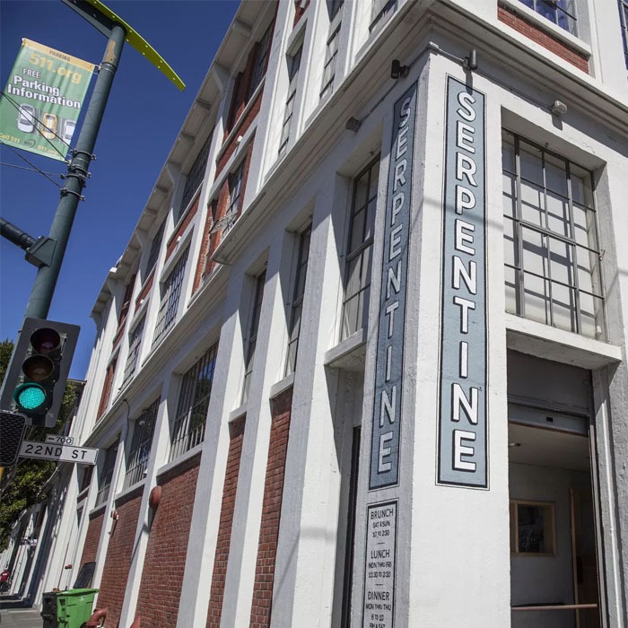 Dogpatch Institution is Getting a Refresh - Dogpatch dining destination Serpentine will close for a remodel starting August 1, reopening on September 6. When it returns, expect an expanded bar, a more open kitchen, more windows, and a revamped, Southern-inflected menu.