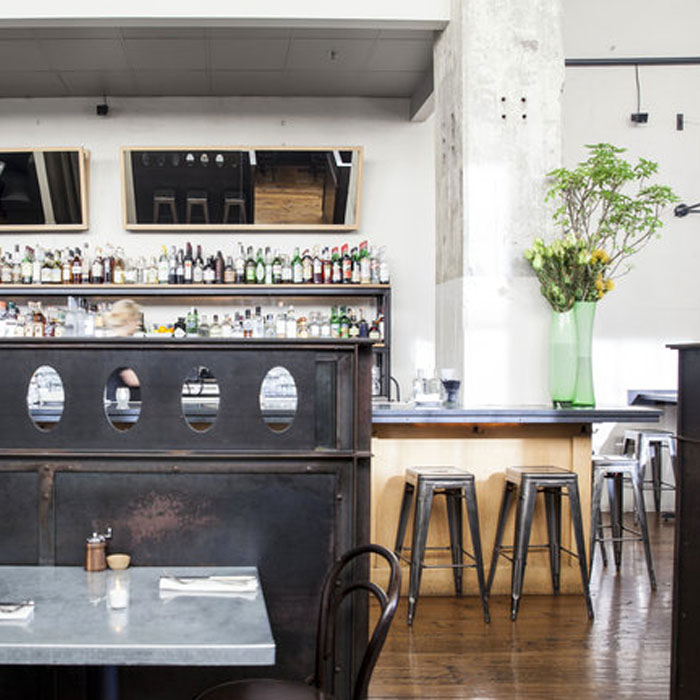 Serpentine in Dogpatch offers a relaxed escape - Brunch will stuff you full of blue crab Benedict, polenta and eggs, and buckwheat pancakes, and when the sun goes down, enjoy a killer burger, braised rabbit pappardelle, or lamb shoulder roulade.