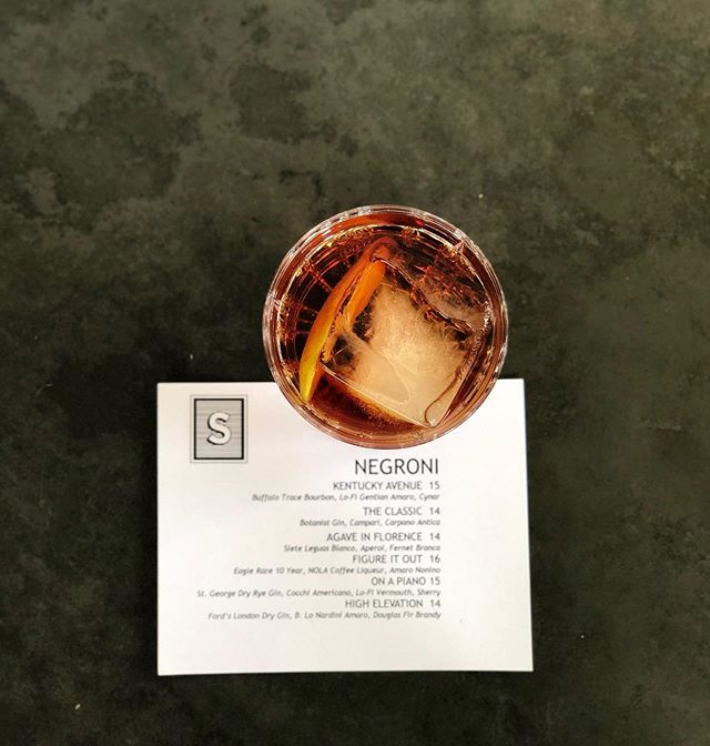 Introducing our new Negroni Menu!! Starting today, we will have all these bitter beauties available! Just ask your server or bartender to take a peek at a menu 👀 #negroni #negronimenu #secretmenu #ifyouknowyouknow #draaaaanks #dogpatchsf #dogpatch #dankness 📸: @branniez