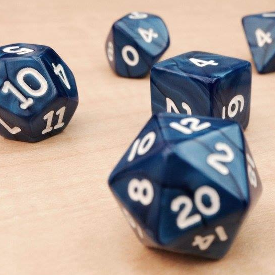 DICE SET(COLORS VARY) -