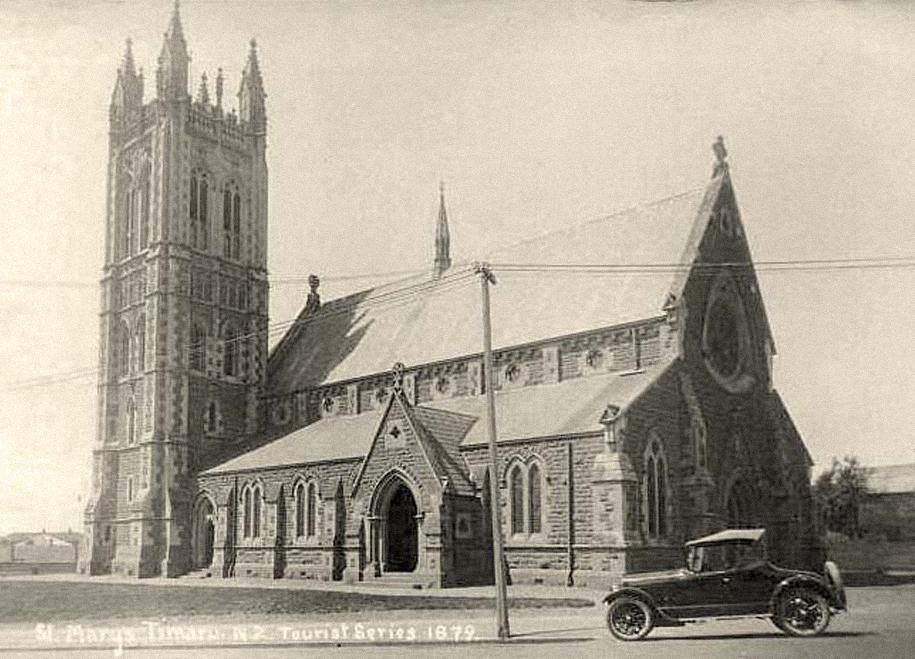 1907:Addition of the Chancel and Tower - Construction to complete the east end of the church and tower, including the chancel, a new side-chapel, vestry and the octagonal room now used as a choir-room, was begun in 1907.