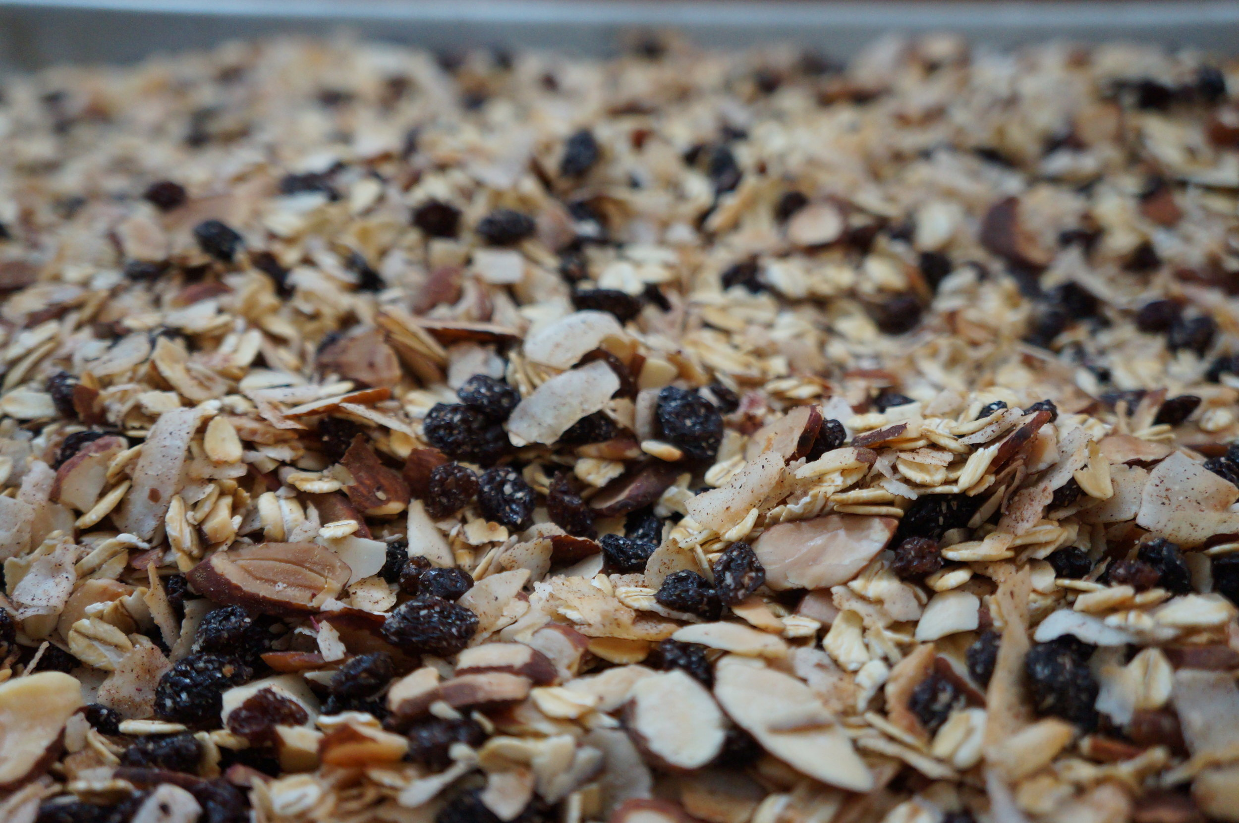 Almond - Coconut Muesli