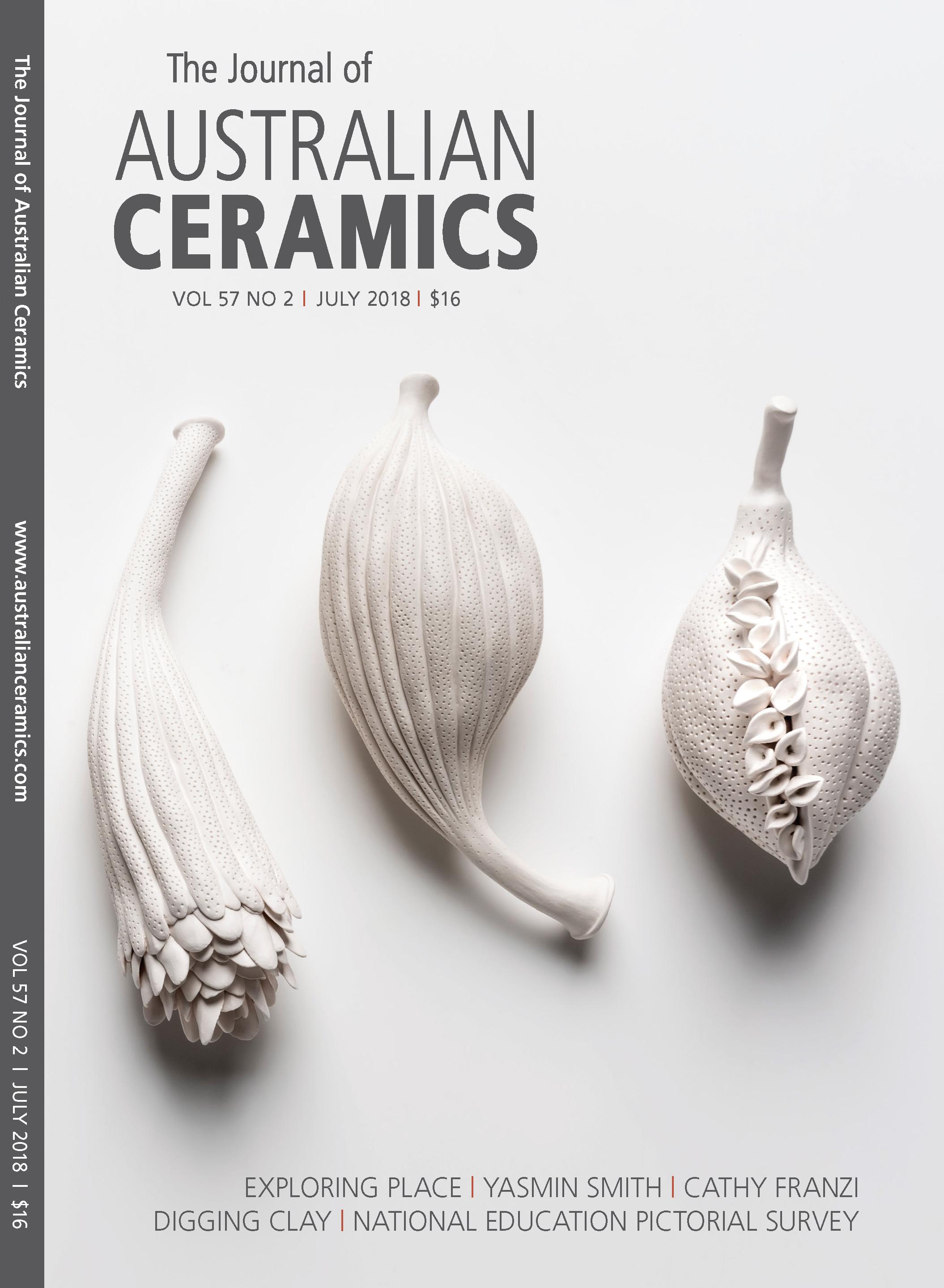 Australian Ceramics Cover