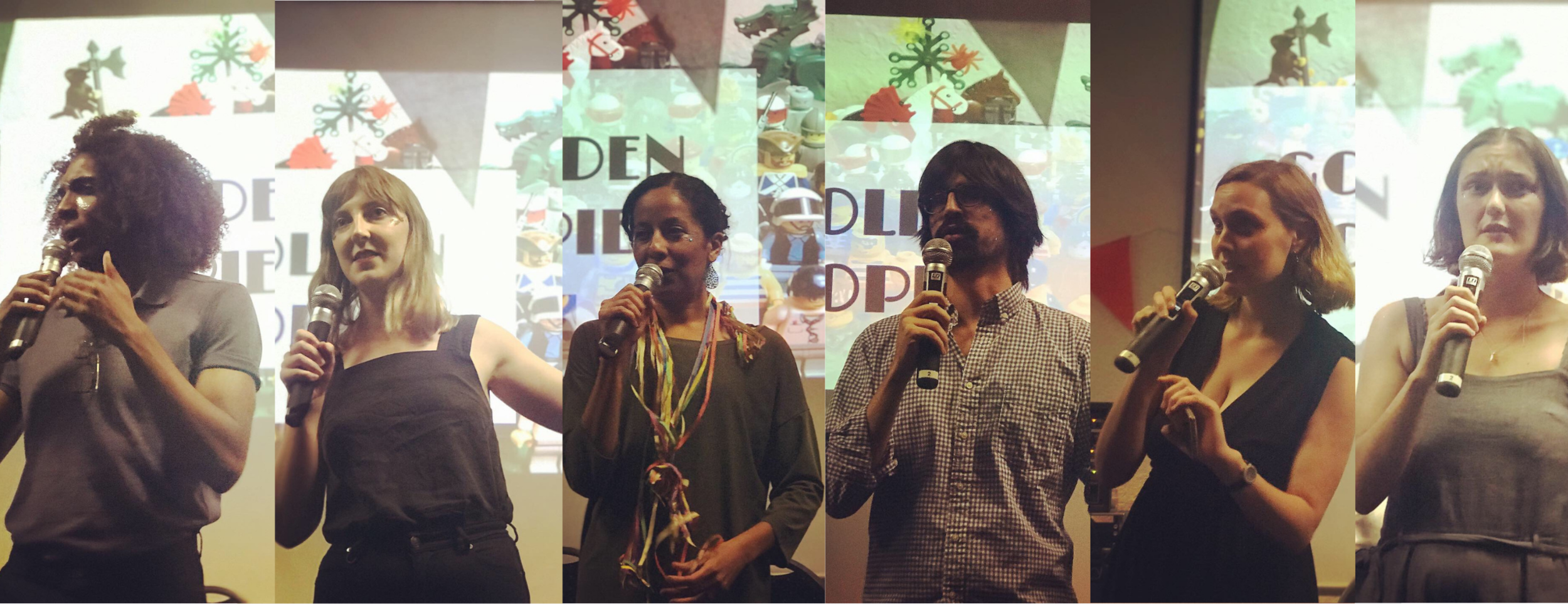 Representatives from Amandla.mobi (South Africa), GetUp (Australia), MoveOn (US), Nossas (Brasil), Campact (Germany) and ActionStation (New Zealand) pitch their campaigns for our annual awards night.