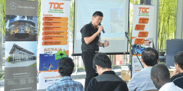 Our very own Mr. Waiky Foo tells about all that's great at TOC!