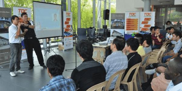 TOC graduate Fong Weng Hong shares his experience working at Hap Seng Star.