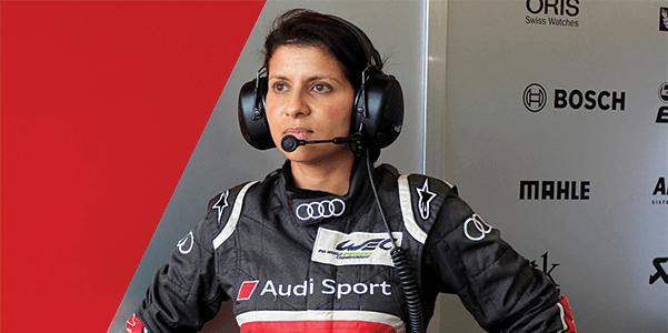Photo Source:   Alchetron   Leena Gade, Audi's most famous LeMans-winning Engineer and the first female race engineer to win the 24 Hour of Le Mans