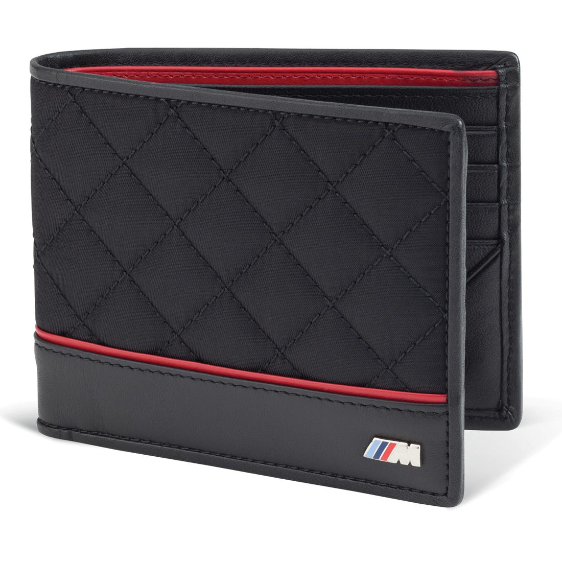 The BMW Quilted leather wallet.