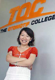 Adeline Foo: »If you learn and work hard enough, you can become a Formula One technician and easily earn a lot«  Source:  The Star Online
