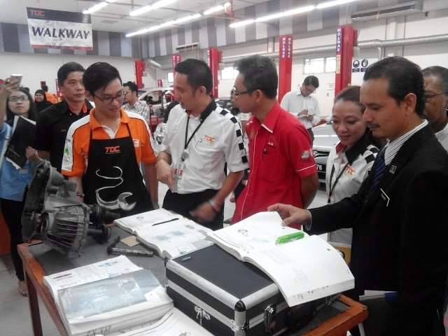 Touring the TOC facility  Source:  Motoring- Malaysia