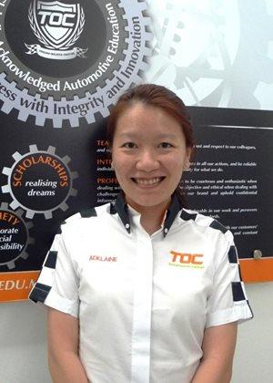 The Otomotif College chief executive officer Adelaine Foo  Source: Carsifu