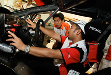 Understanding the process behind building a race car fit for a 12-hour endurance race.  Image source:  Honda Malaysia