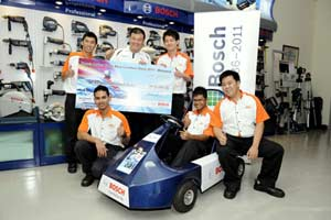 Bunja Racing Team from The Otomotif College   Image source:  homefinder
