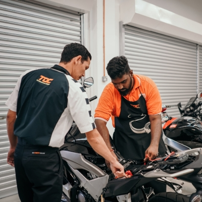 SUPERBIKE TECHNICIAN COURSE (LEVEL 1-3) - Intake Dates for 2019:11 February 20195 August 20192 November 2019