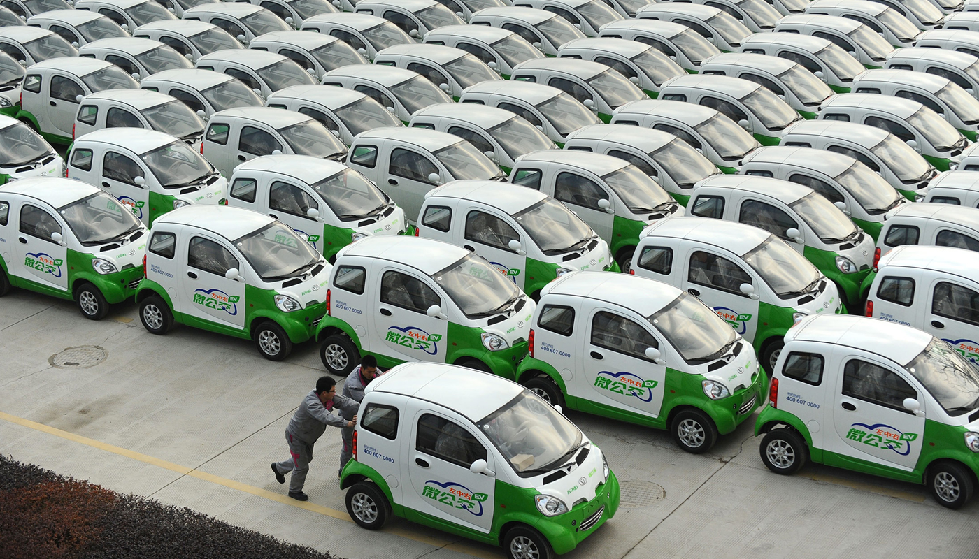 Image from:  Sustainable Transport in China