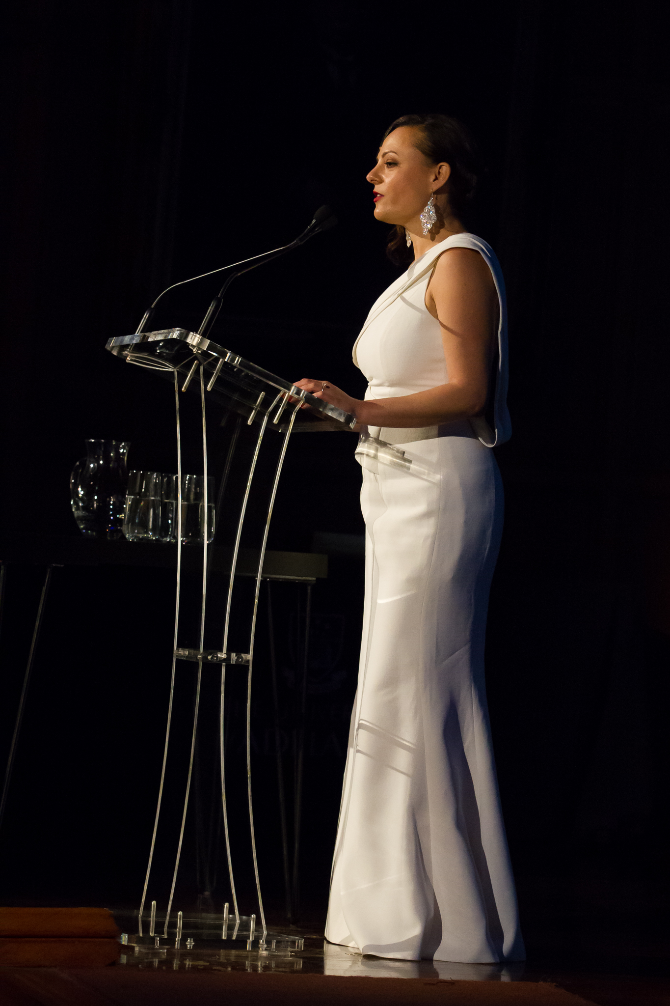 co MC at the Town and Gown Gala dinner for the investiture of the 22nd VC of the University of Adelaide
