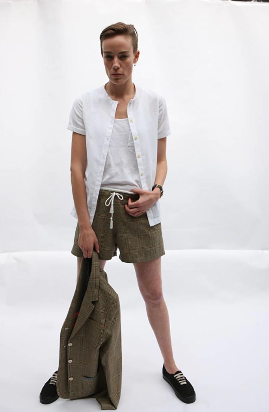 airtex sports shirt, check shorts.jpg