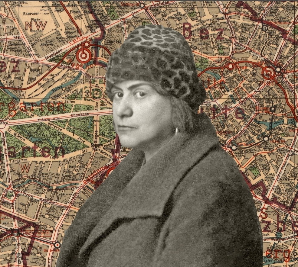 DISCOVER ELSE LASKER-SCHÜLER'S BERLIN - Else Lasker-Schüler lived in Berlin from 1894 until she was forced into exile in 1933. The city was the birthplace of most of her immortal works and the setting for the greatest triumphs and tragedies of her life.