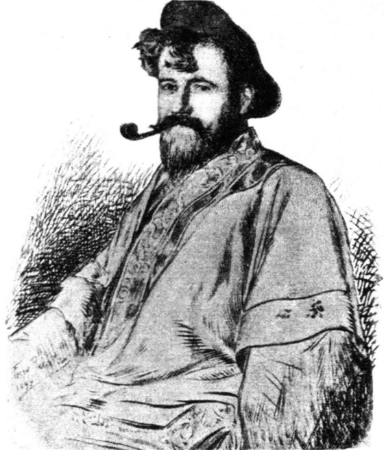 Hermann Bahr, 1893 (drawing by Ferry Bératon).png