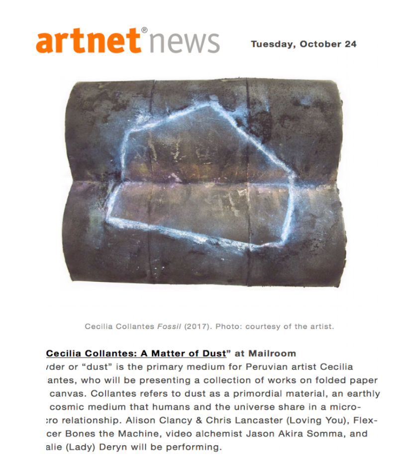 ARTNET NEWS   October, 2017