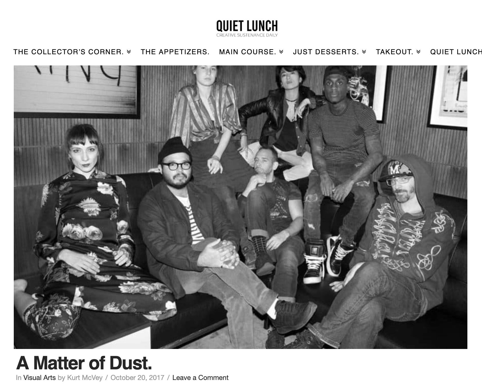 QUIET LUNCH  October, 2017