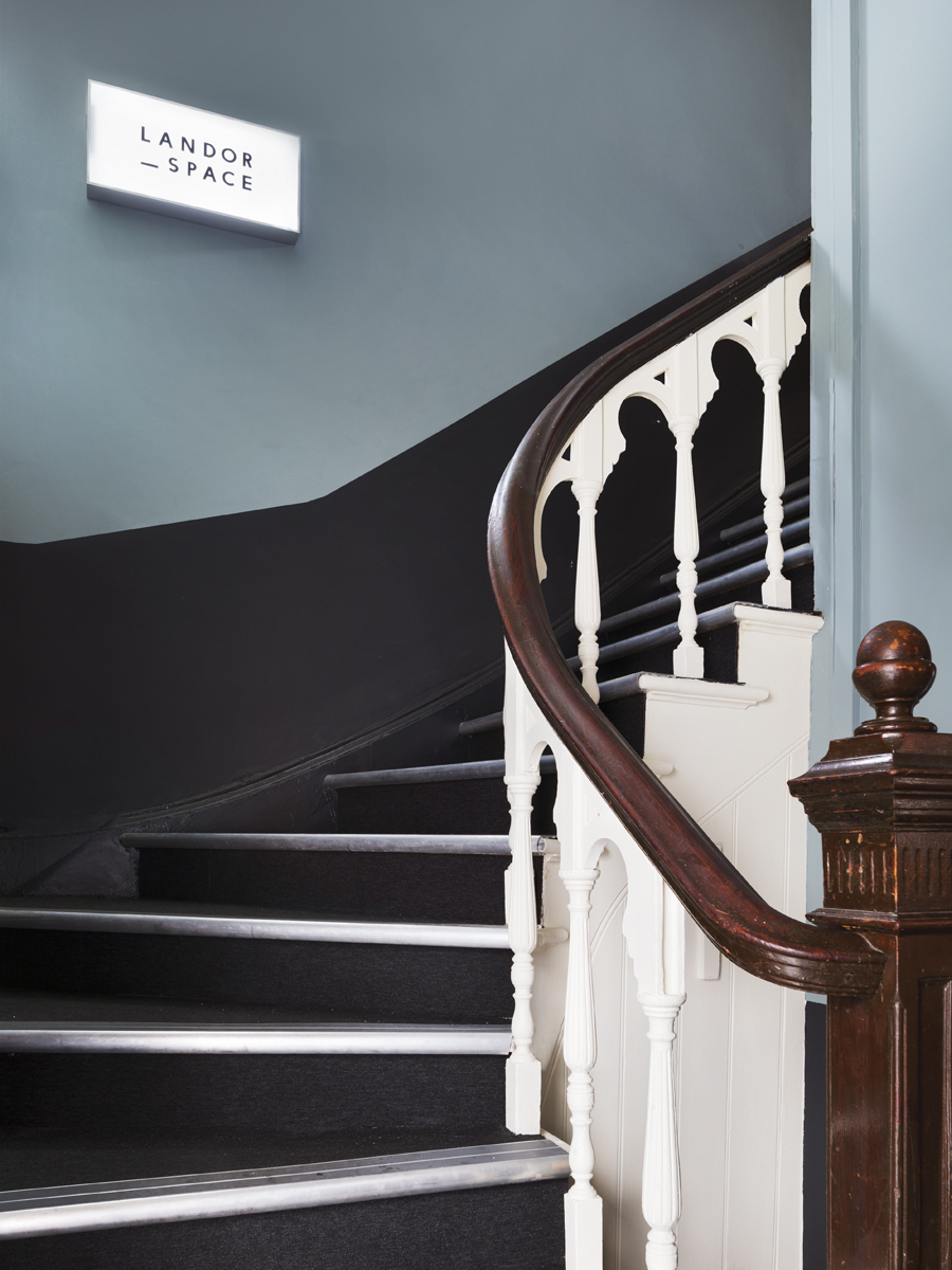 STAIRCASE LEADING TO LANDOR SPACE