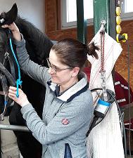 Patrice Kannengießer - -praktische TierärztinArbeitsschwerpunkte: - Anästhesiologie - Innere Medizin