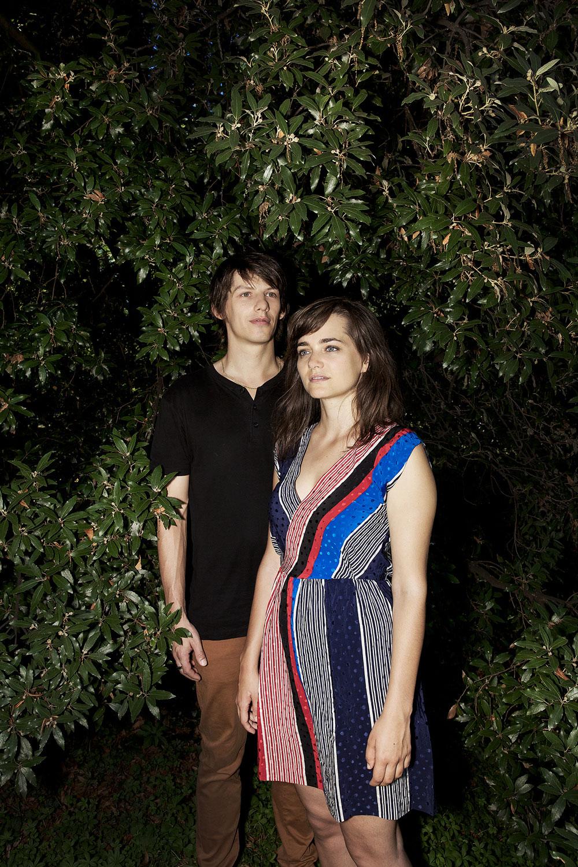 Alizé Oswald et Xavier Michel
