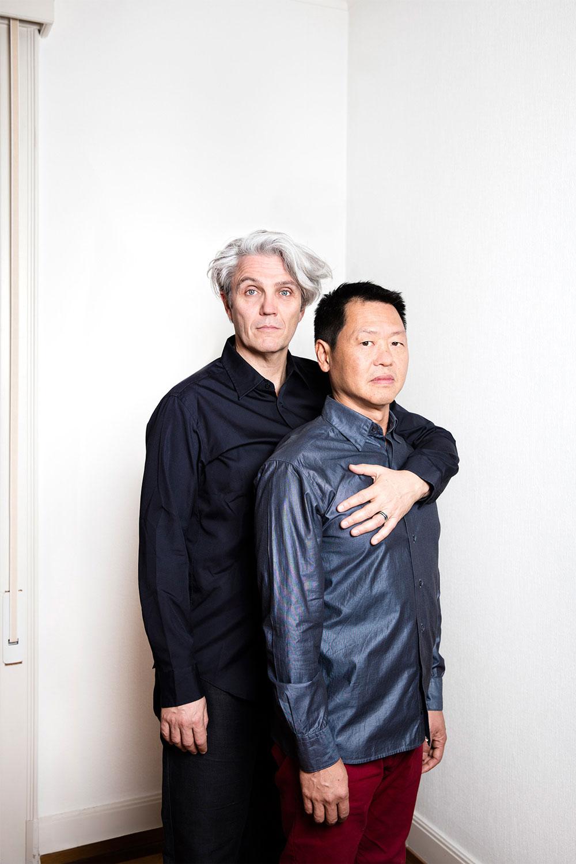 Christophe et Nguyen