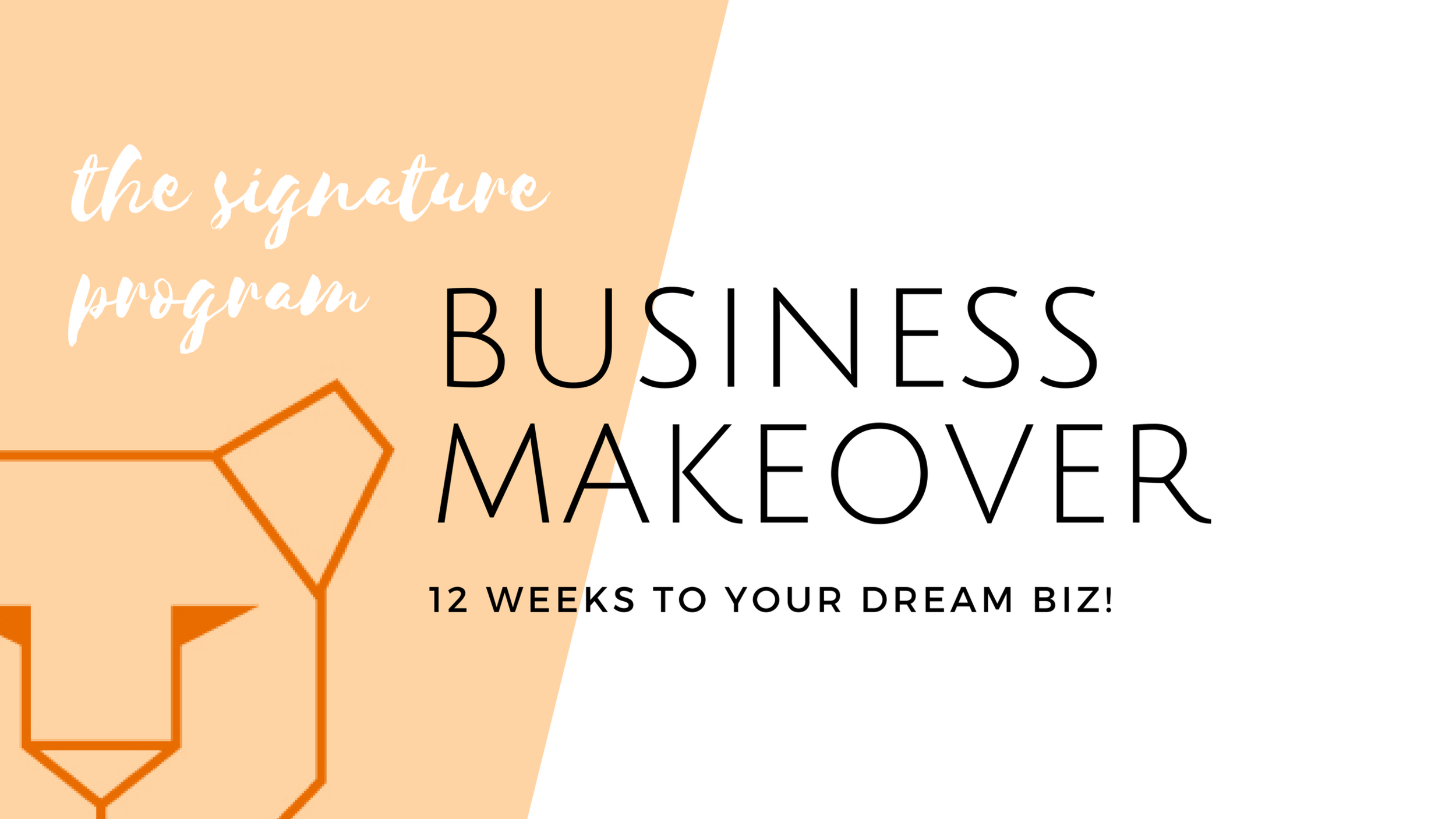 12 weeks to your dream business - I will work with you personally to take your business to the next level. At the end of this program you will have:- a clear business identity- revised service offerings that are easy to sell- a client generation system- overcome procrastination- a success mindset- a 1 year plan for unstoppable momentum