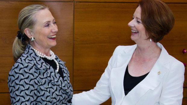 Hillary Clinton & Julia Gillard this week announced a new plan to tackle bias in politics
