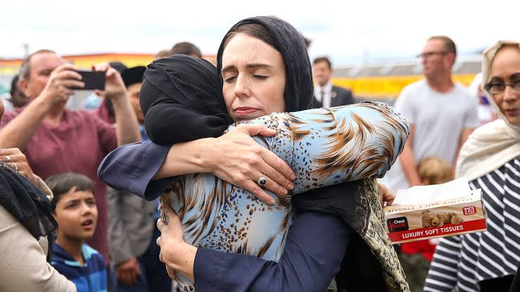 New Zealand PM Jacinda Ardern showing courage, grace and outstanding leadership in the wake of tragedy