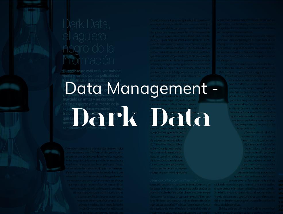 Dark Data, el agujero negro de la información -  2017