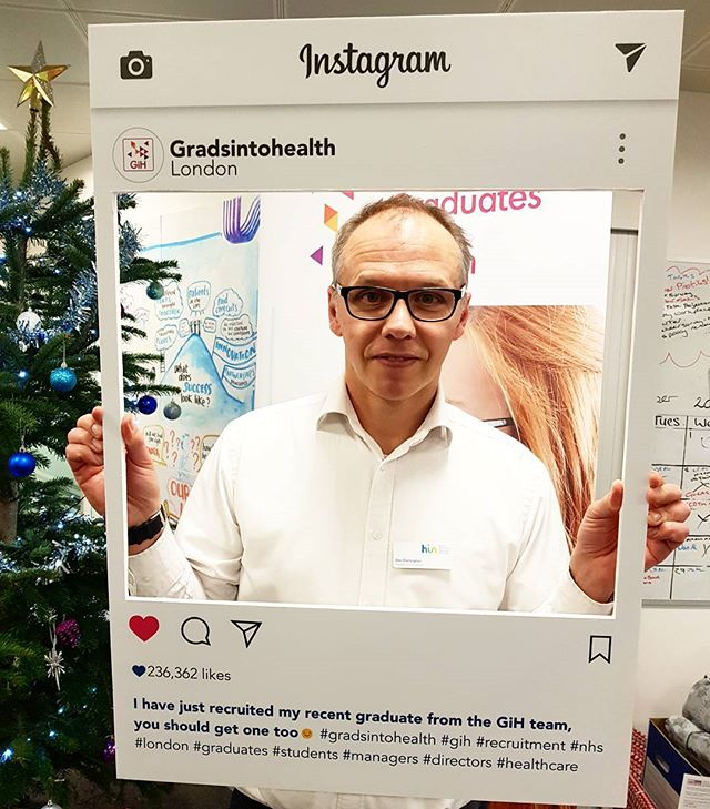 Dan Dartington, Head of Finance and Informatics at the Health innovation Network recruited a fantastic graduate into his team and made them permanent GiH did it again 🤗 #managerstories #gih #nhs #gradrecruitment #nhscareers @recruit_gstt @nhsleadership
