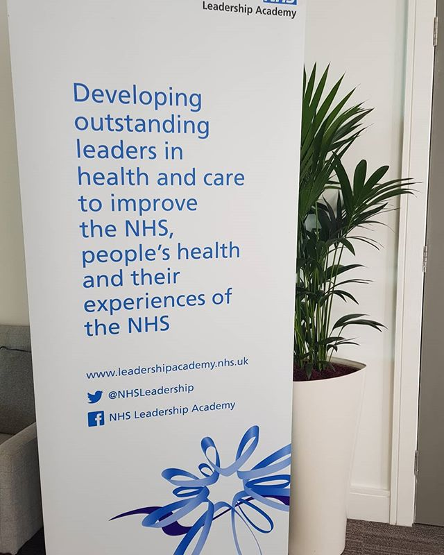 We're at the NHS Graduate Management Trainee Scheme Assessment day today! Excited to see the bright and talented future leaders of the NHS! #NHS #gradscheme #leeds