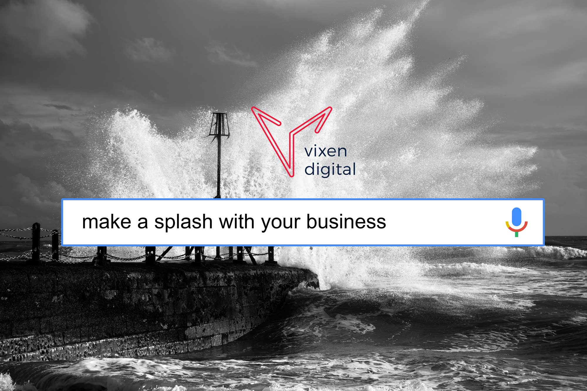 Vixen Digital PPC Consultancy in Brighton, UK. Make A Splash With Your Business.